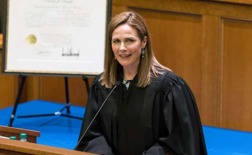 """Amy Coney Barrett: Our Next Supreme Court Justice Whose """"Dogma"""" is Good forAmerica"""